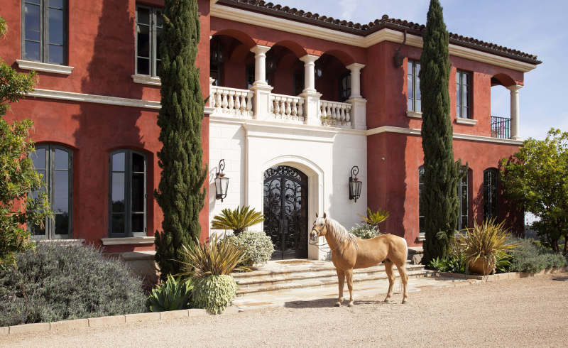 Mediterranean Vineyard Equestrian Estate