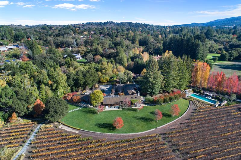 Woodside California Vineyard Estate