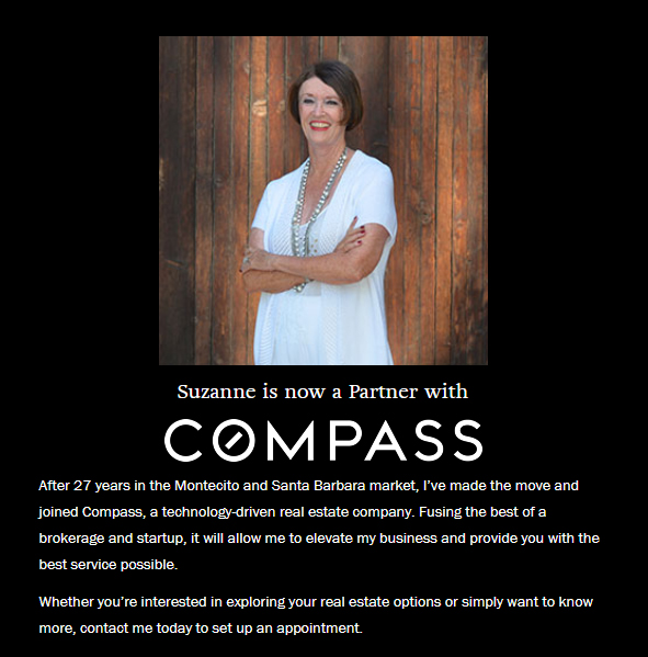 Suzanne Perkins Joined Compass Real Estate